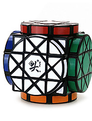 Toys Dayan Stress Relievers / Magic Cube Alien / Magic Toy Smooth Speed Cube Magic Cube puzzle Black Plastic