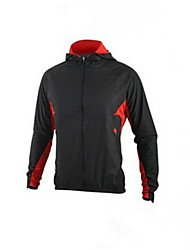 Cycling Jacket Men's Long Sleeve Bike Thermal / Warm Comfortable Tops Terylene Classic Fall/Autumn Exercise & Fitness Cycling/Bike Black