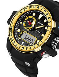 Мужской / Для пары Спортивные часы / Армейские часы / Смарт-часы / Модные часы / Наручные часы Цифровой / Японский кварцLED / Секундомер