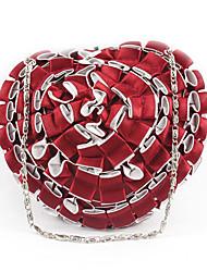 L.west Women Elegant High-grade Heart-shape Evening Bag