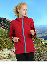 Unisex Hiking Softshell Jacket Waterproof Thermal / Warm Quick Dry Windproof Ultraviolet Resistant Anti-Eradiation Wearable Limits