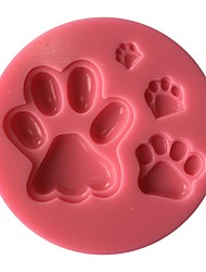 Bear's Paw Silicone Mold  SM-446