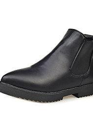 Women's Boots Fall / Winter Riding Boots  / Basic Pump / Comfort / Combat Boots / Pointed Toe / FlatsPatent