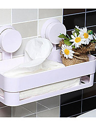 Strong Chuck Rectangle Bathroom Shelf Hanging Toilet Receive Multi-Purpose Bathroom Shelf