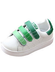 Unisex Sneakers Spring / Fall Slide / Comfort PU Casual Flat Heel Magic Tape Black / Blue / Green Sneaker