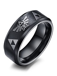 Rock Gothic Titanium Steel Man Ring Restoring Ancient Ways Christmas Gifts
