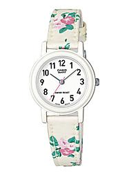 Women's Fashion Watch Quartz / Fabric Band Casual White Brand