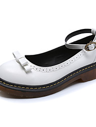 Women's Oxfords Comfort / Round Toe / Closed Toe Casual Low Heel Bowknot / BuckleBlack / Yellow /