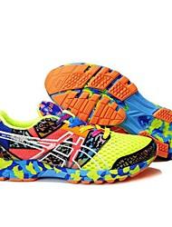 ASICS® GEL-NOOSA TRI 8 Tênis de Corrida Homens / Mulheres Anti-Escorregar / Anti-Shake / Respirável / Vestível Malha Respirável Borracha