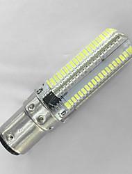 5 BA15D Ampoules Maïs LED T 152LED SMD 3014 600LM lm Blanc Chaud / Blanc Froid Décorative AC 100-240 V 1 pièce