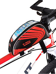 Mountain Bike Tube Package Bag Color Double Saddle Bag Before Smart Large-screen Mobile Phone Packages