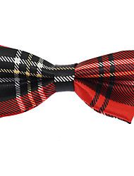 Baby Kids Wedding Party Adjustable Jacquard Polyester Silk Bow Tie