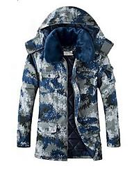 Wandern Softshell Jacken Unisex warm halten / tragbar Winter Baumwolle Tarnfarben S / M / L / XL / XXL Camping & Wandern-Sport