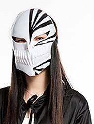 1pc les masques mortuaires noirs pour costume de halloween couleur aléatoire