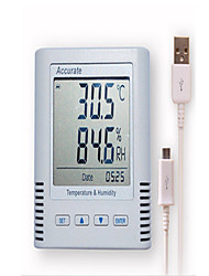 Pharmacies GSP USB Portable Electronic Automatic Temperature And Humidity Recorder