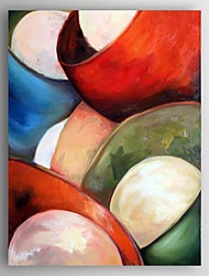 Oil Painting Abstract Still Life Hand Painted Canvas Painting with Stretched Framed Ready to Hang