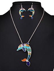 Ensemble de bijoux Sexy Mode Arc-en-ciel Collier / Boucles d'oreilles Mariage Soirée Quotidien Décontracté 1setColliers décoratifs