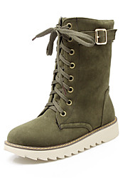 Women's Boots Spring / Fall / Winter Snow Boots / Fashion Boots / Casual Platform Lace-upBlack / Brown