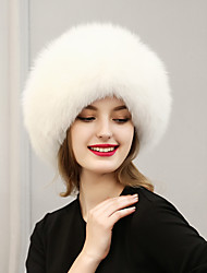 Women Faux Fur Ski Hat Vintage / Cute / Casual Winter