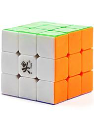 Dayan® Гладкая Speed Cube 3*3*3 / Стресс Relievers / Кубики-головоломки Кот Пластик