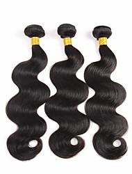 3 Stück Große Wellen Menschliches Haar Webarten Brasilianisches Haar Menschliches Haar Webarten Große Wellen