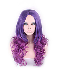 European And American Popular Anime COS Long Two Color Gradient Harajuku Wig