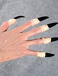 3шт палец для Хэллоуина костюм партии случайный цвет