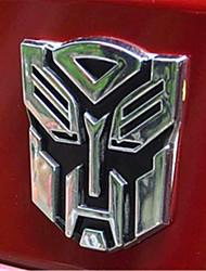 de metal do carro logotipo adesivos autocolantes decorativos logotipo personalidade zero pasta de personalidade Auto Suprimentos