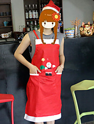 Both Men And Women Apron Household Hotel Restaurant Waiter Clothing Christmas Decorations