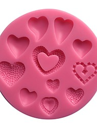 Sweet Hearts Collection Silicone Mold  SM-457