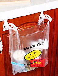 2Pcs Receive Non-Trace  Folding Hanging Plastic Garbage Bags