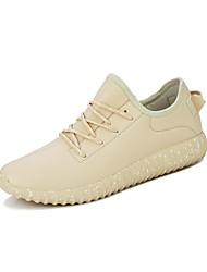Femme-Sport-Noir / Rouge / Blanc / Beige-Talon Plat-Confort / Bout Arrondi-Sneakers-Synthétique
