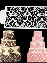 1Pcs Cake Stencil Fondant Cake Decorating Tools Chocolate Mold Craft Cookie Baking Tool