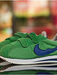 Unisex Sneakers Summer Comfort Leatherette Outdoor Flat Heel Hook & Loop Black Green Purple Red Others