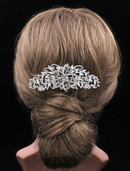 Fashion Newstyle Hollowed-out Rhinestone Comb