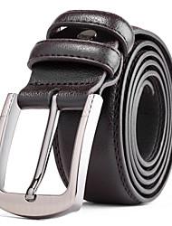 Hombre Cuero Cinturón de Cintura Casual Todas las Temporadas