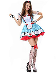 Women's Alisa Oktoberfest Beer Maid Cosplay Costume