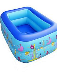 Inflável para Água/Areia brinquedo ao ar livre / Plástico Azul Para Crianças Todos