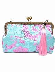 Women Silk Formal Chinese Style / National Style Retro / Casual / Event/Party / Wedding Cheongsam Evening  Bag
