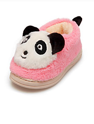 Unisex Loafers & Slip-Ons Winter Customized Materials Casual Flat Heel Others Black Blue Pink Other