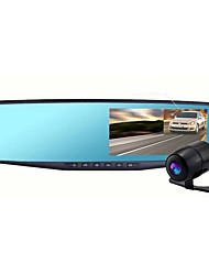 Double Lens Drive Recorder Hd 1080p Night Vision Wide Angle Parking Monitoring Dual Lens