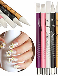 5 Nail Art Kits Nagel-Kunst-Maniküre-Werkzeug-Kit Make-up kosmetische Nail Art DIY