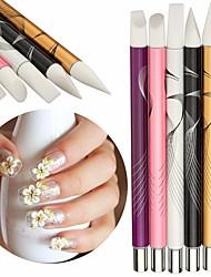5 Kits Nail Art Prego Kit Art Ferramenta de Manicure maquiagem Cosméticos DIY Nail Art