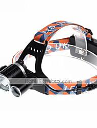 Fascia per torcia in testa LED 4.0 Modo 5000LM Lumens Ricaricabile / Compatta Cree XM-L T6 18650Campeggio/Escursionismo/Speleologia /