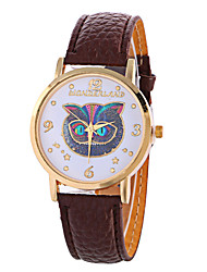 Girl Quartz Watch Clock Women Leather Casual Dress Women's Owl Wristwatch Cool Watches Unique Watches