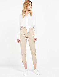 c + indruk van vrouwen stevige beige chino pantssimple