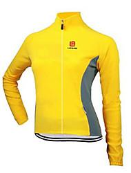 Sport Fahrradjacke Damen Langärmelige FahhradAtmungsaktiv / Rasche Trocknung / Windundurchlässig / Anatomisches Design / UV-resistant /
