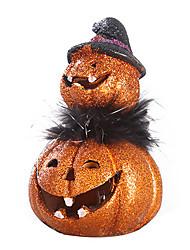 1PC Resin Handicraft  Furnishing Articles Elegant European-Style Cartoon Halloween Pumpkins Leds Lamp