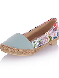 Women's Flats Spring / Summer / Fall / Winter Basic Pump / Styles Chiffon / Linen / Denim / LeatheretteWedding /