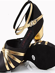 Damen Leder Silber Golden